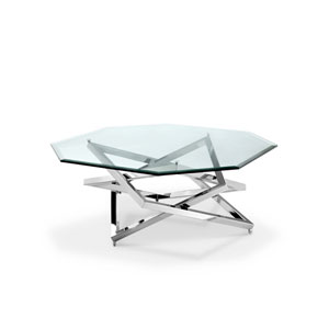 Lenox Square Octagonal Cocktail Table