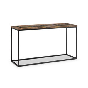 Rochester Rectangular Sofa Table in Burnished Brown
