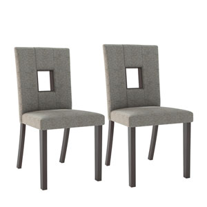 Bistro Grey Sand Dining Chairs, Set of 2