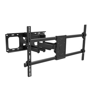 Full Motion Wall Mount for TVs up to 90 Inches