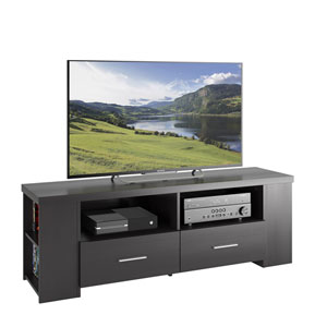 Bromley TV Bench in Ravenwood Black, for TVs up to 70 Inches