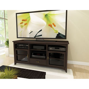 West Lake Dark Espresso 60-Inch TV / Component Bench