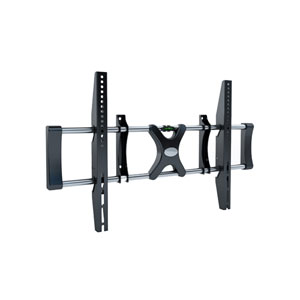 Black Fixed Flat Panel Wall Mount for 36-Inch - 55-Inch TVs
