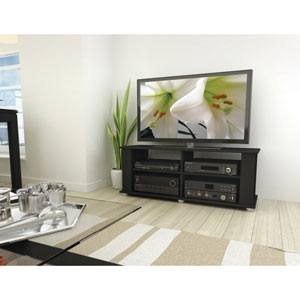 Fillmore Midnight Black 48-Inch TV / Component Stand