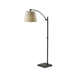 York Antique Bronze One-Light Floor Lamp