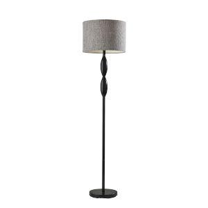Lance Black One-Light Floor Lamp