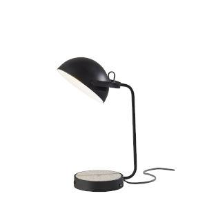 Brooks Black One-Light Desk Lamp