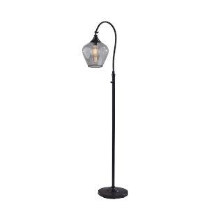 Bradford Dark Bronze One-Light Floor Lamp
