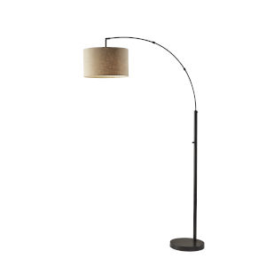 Preston Dark Bronze One-Light Floor Lamp