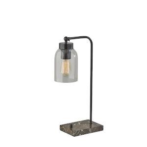 Bristol Black One-Light Desk Lamp
