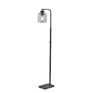 Bristol Black One-Light Floor Lamp