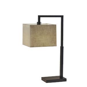 Richard Black One-Light Table Lamp