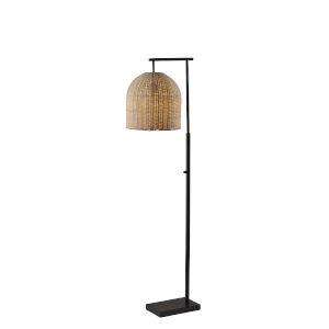 Bahama Dark Bronze One-Light Floor Lamp