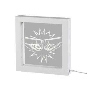Fist White LED Table Lamp