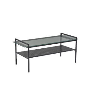 Pearson Black Two-Tiered Coffee Table