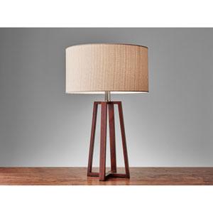 Quinn Walnut One-Light Table Lamp
