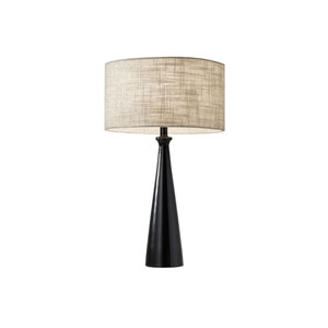 Linda Black One-Light Table Lamp
