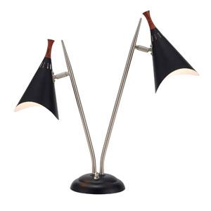 Draper Black Desk Lamp
