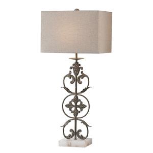 Gerosa Aged Bronze Table Lamp