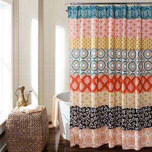 Bohemian Stripe 72 x 72-Inch Shower Curtain