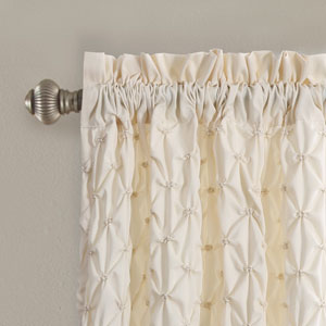 Bayview Ivory 84 x 54 In. Curtain Set