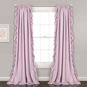 Reyna Lilac 84 x 54 In. Window Curtain