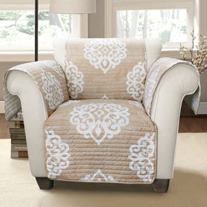 Sophie Taupe Single Arm Chair Furniture Protector