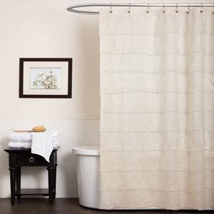 La Sposa Shower Curtain Beige
