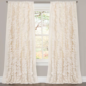 Belle Ivory 84 x 54 In. Panels