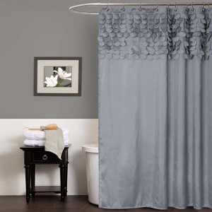 Lillian Gray Shower Curtain