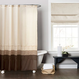 Mia Multi-Color Shower Curtain
