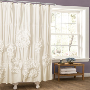 Serena Ivory Shower Curtain