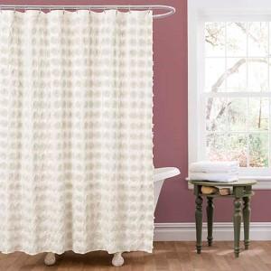 Emma Ivory Shower Curtain