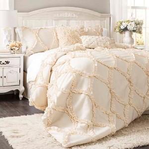 Avon Ivory Three-Piece Queen Comforter Set