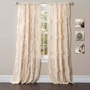 Avon Ivory 84 x 54-Inch Window Curtain Single Panel