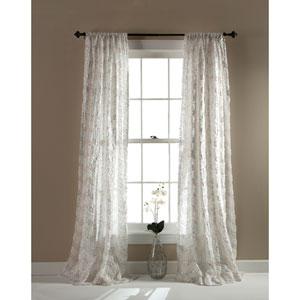 Giselle Ivory 54 x 84-Inch Window Single Panel