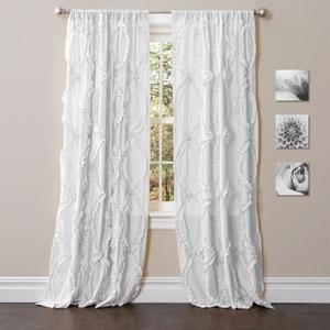 Avon White 84 x 54-Inch Window Curtain Single Panel