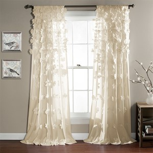 Riley Ivory 84 x 54-Inch Curtain Single Panel