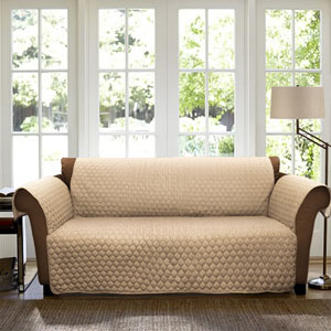Joyce Taupe Sofa Furniture Protector