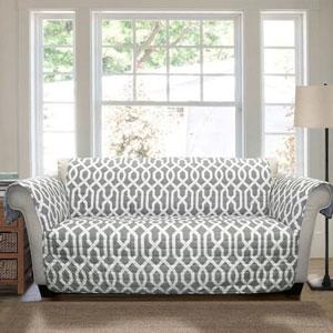 Edward Trellis Gray Sofa Furniture Protector