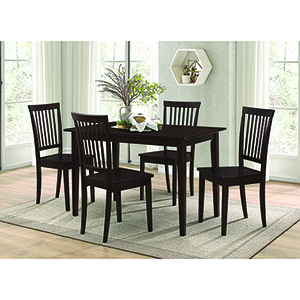 Cappuccino 5-Piece Dining Set