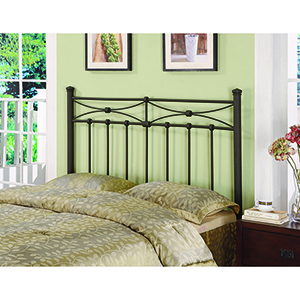 Rustic Bronze Metal Full Queen Headboard