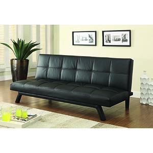 Black Upholstered Sofa Bed