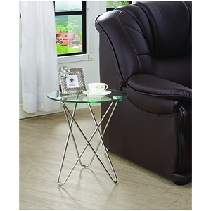 Chrome Petite Accent Table