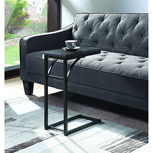 Black and Grey Accent Table