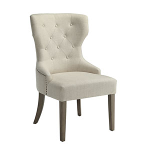 Florence Beige Side Chair