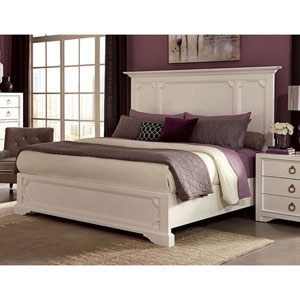 Furiani White Queen Bed