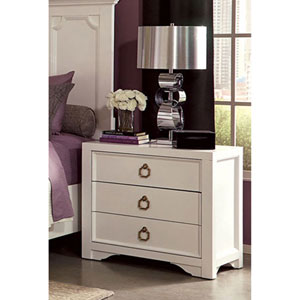 Furiani White Night Stand