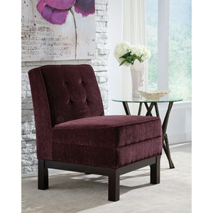Eggplant Accent Chair