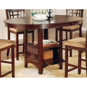 Lavon Dark Cherry Counter Height Table